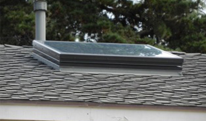 SOLARBAN operable skylight