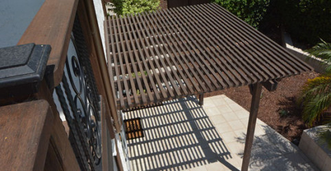 Lattice patio